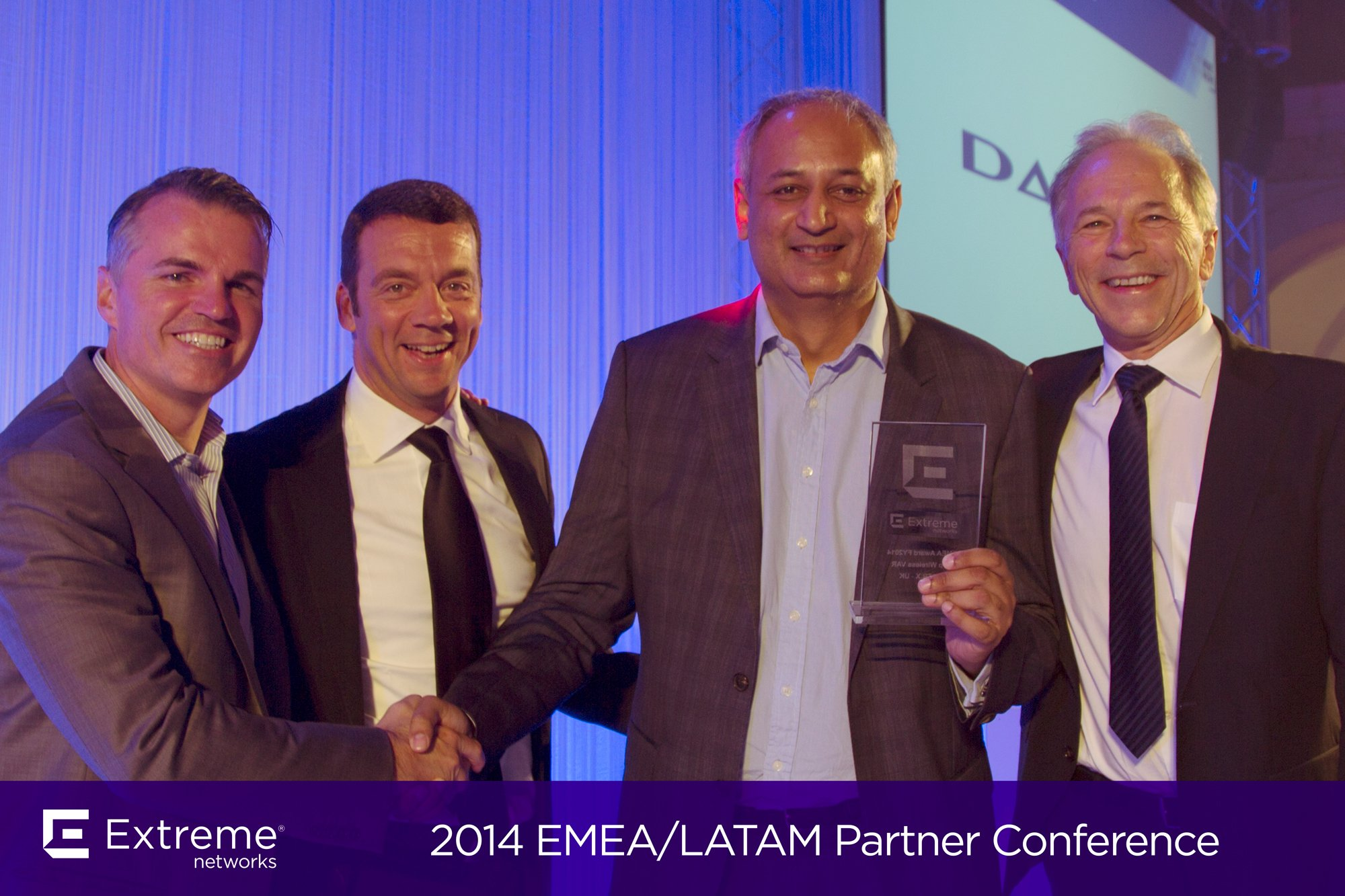Datrix Awarded Top EMEA Wireless Partner 2014