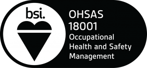 BS OHSAS 18001 badge