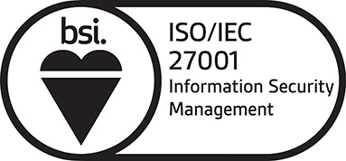 ISO/IEC 27001 Information Security Management badge