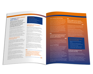 Insight and Analytics Proposition Sheet